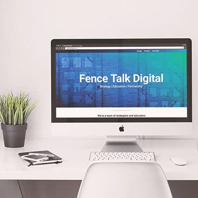 Fence Talk Digital Site Redesign